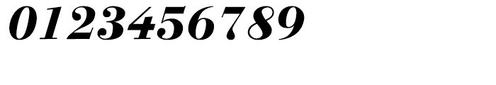 Linotype Gianotten Heavy Italic Font OTHER CHARS