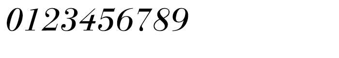 Linotype Gianotten Italic Font OTHER CHARS
