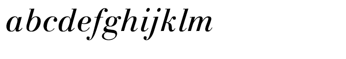 Linotype Gianotten Italic Font LOWERCASE