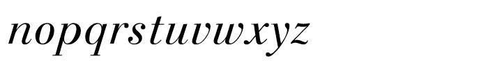 Linotype Gianotten Light Italic Font LOWERCASE