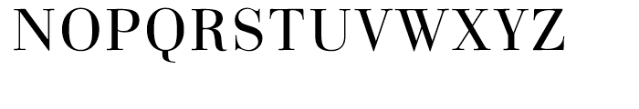Linotype Gianotten Light Font UPPERCASE