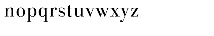 Linotype Gianotten Light Font LOWERCASE
