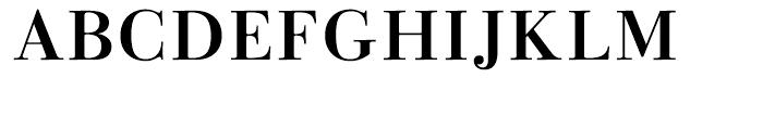 Linotype Gianotten Medium Font UPPERCASE