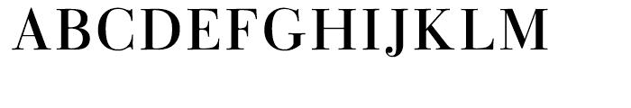 Linotype Gianotten Regular Font UPPERCASE
