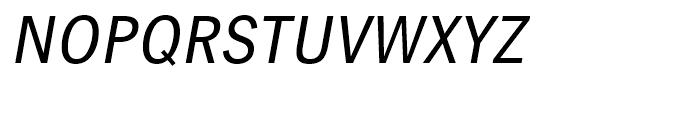 Linotype Gothic Italic Font UPPERCASE