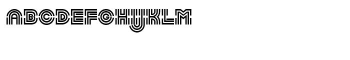 Linotype Labyrinth Regular Font UPPERCASE