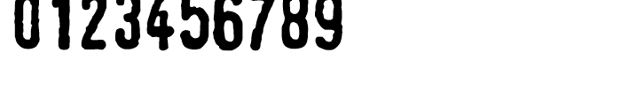 Linotype Tagesstempel Dick Font OTHER CHARS