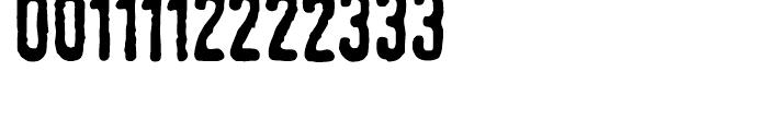 Linotype Tagesstempel Dick Font UPPERCASE