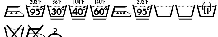 Linotype Textil Pi 2 Font LOWERCASE