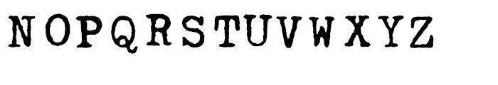 Linotype Typo American Regular Font UPPERCASE