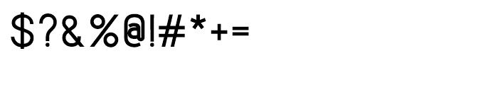 Lintel Medium Font OTHER CHARS