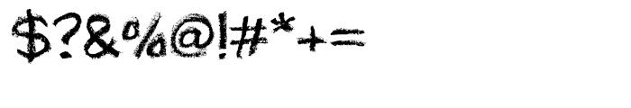 Lippy Regular Font OTHER CHARS