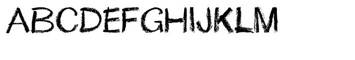 Lippy Regular Font UPPERCASE