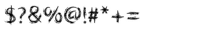 Lippy Sans Font OTHER CHARS