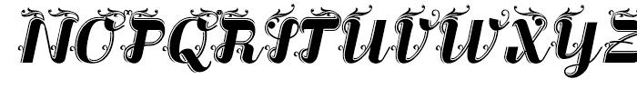 Liquoia B Regular Font UPPERCASE