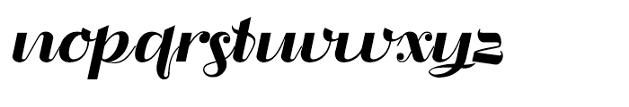 Liquoia B Regular Font LOWERCASE