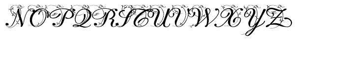 Lisa Fiore Font UPPERCASE