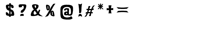 Littler Serifada Envelope Regular Font OTHER CHARS