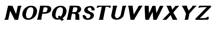 Littler Serifada Italic Font UPPERCASE