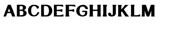 Littler Serifada Regular Font UPPERCASE