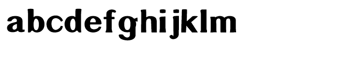 Littler Serifada Regular Font LOWERCASE