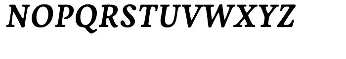 Livory Bold Italic Font UPPERCASE