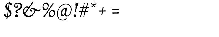 Livory Regular Italic Font OTHER CHARS