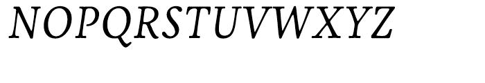 Livory Regular Italic Font UPPERCASE