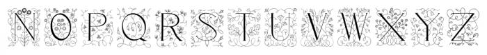 Libertee Regular Font UPPERCASE