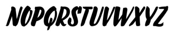 LiebeDoris Bold Italic Font UPPERCASE