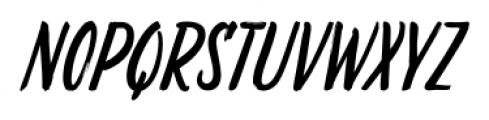 LiebeDoris Italic Font UPPERCASE