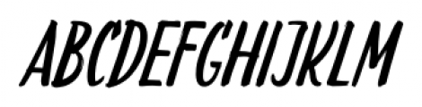 LiebeDoris Italic Font LOWERCASE