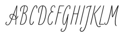 LiebeKlara Regular Font UPPERCASE