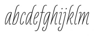 LiebeKlara Regular Font LOWERCASE