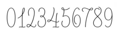 LiebeLotte Light Font OTHER CHARS