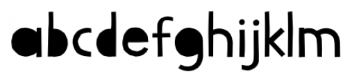 Lilycat Regular Font LOWERCASE