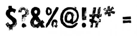 Lino Stamp Regular Font OTHER CHARS