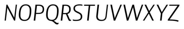 Lisboa Book Italic Font UPPERCASE