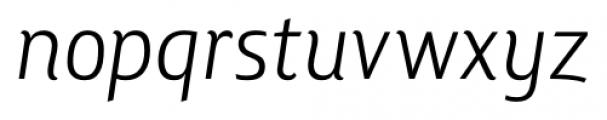 Lisboa Book Italic Font LOWERCASE