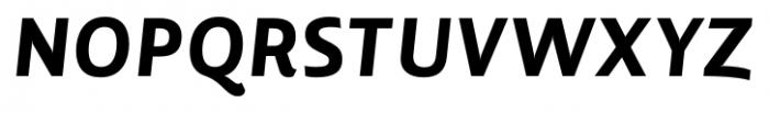 Lisboa Heavy Italic Font UPPERCASE
