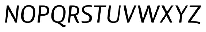 Lisboa Italic Font UPPERCASE