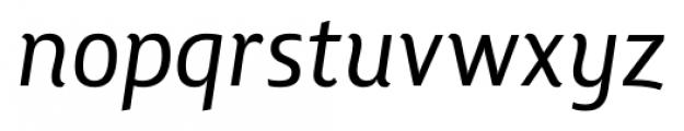 Lisboa Italic Font LOWERCASE
