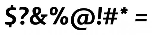 Lisboa Sans Bold Italic Font OTHER CHARS