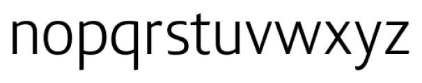 Lisboa Sans Book Font LOWERCASE