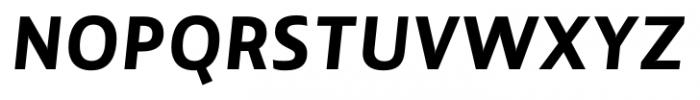 Lisboa Sans Extra Bold Italic Font UPPERCASE
