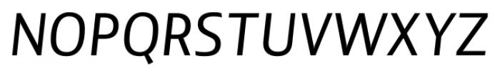 Lisboa Sans Italic Font UPPERCASE
