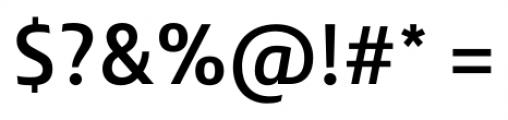 Lisboa Sans Medium Font OTHER CHARS