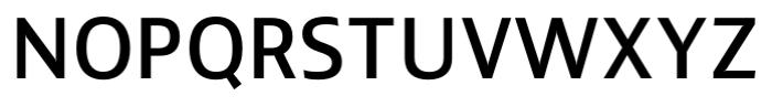 Lisboa Sans Medium Font UPPERCASE