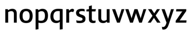Lisboa Sans Medium Font LOWERCASE