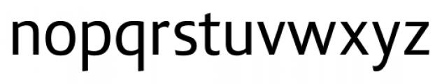Lisboa Sans Regular Font LOWERCASE